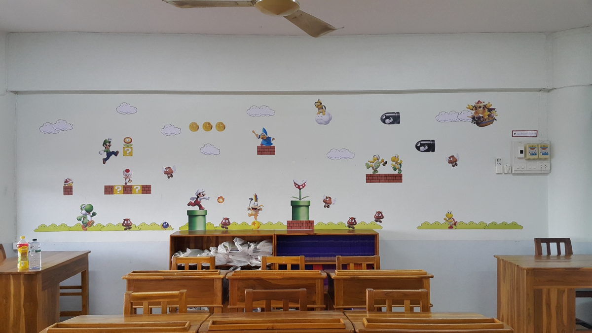 Video Game Themed Classroom