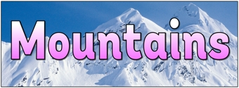 Mountains Banner