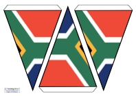 Flag Bunting - South Africa