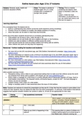 Child Soldiers Lesson Plan (ages 13-17)