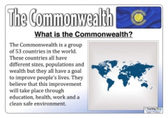 The Commonwealth Posters
