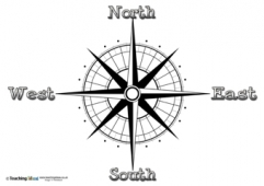 Compass Directions - 4 points