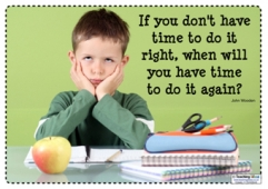 If you don't have the time...