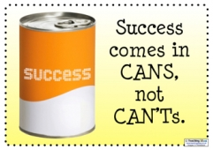 Success comes in cans...