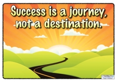 Success is a journey...
