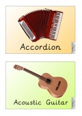 Musical Instruments (2 per page)