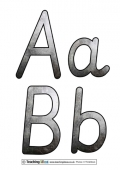 The Iron Age Display Letters