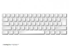 Keyboard - Blank Keys (UK)