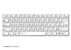 Keyboard - Lower Case Letters (UK)