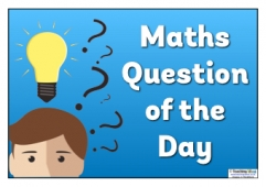 Maths Question of the Day Poster 3