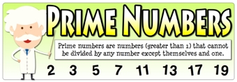 Prime Numbers Banner