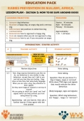 Rabies Prevention - Lesson Plan