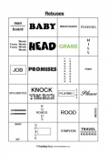 rebus puzzles worksheet for middle school wallpaper hot models rebus puzzles worksheetpi. Black Bedroom Furniture Sets. Home Design Ideas