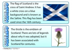 Scotland Fact Cards