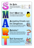 SMART eSafety Rules Poster