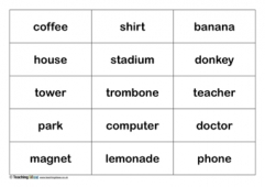 different types of nouns pdf