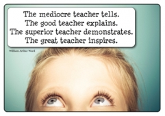The mediocre teacher...