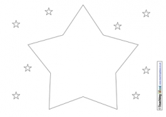 Star Shape Poem