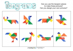 Tangrams for kids: An overlooked teaching tool?