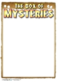 The Box of Mysteries - Recording Sheet