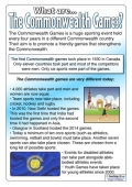 What are the Commonwealth Games?