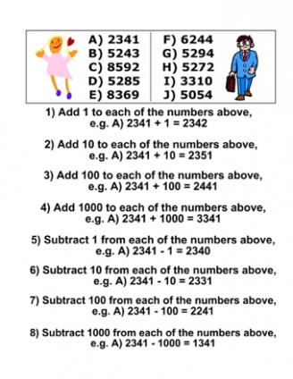 Subtraction worksheets year 1 uk