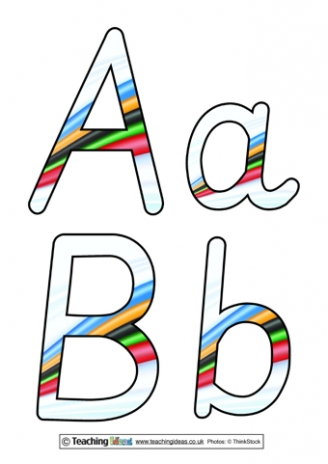 Olympics Display Letters