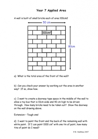 Common Worksheets » Fun Area Worksheets - Preschool and ...