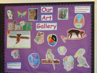 Our Art Gallery Display
