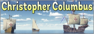 Christopher Columbus Banner