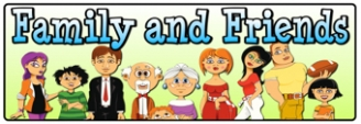 Family and Friends Banner