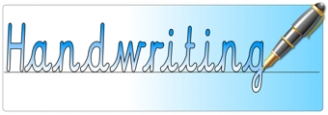 Handwriting Banner
