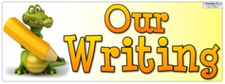 Our Writing Banner