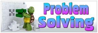 Problem Solving Banners