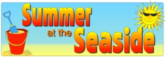 Summer at the Seaside Banner