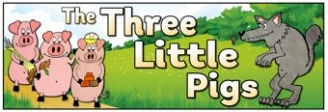 The Three Little Pigs Banner