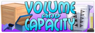 Volume and Capacity Banner