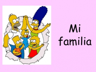 Spanish - My Family