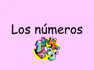 Spanish Numbers 13 to 21