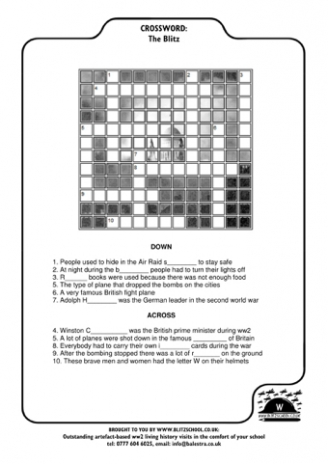 Blitz Crossword