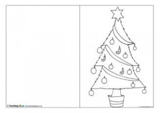 cardchristmastree_0 January Newsletter Template Free In Spanish on christmas family, microsoft word, preschool classroom,
