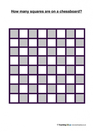 How Many Squares on a Chessboard?