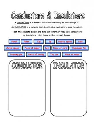 Electrical energy worksheets 4th grade
