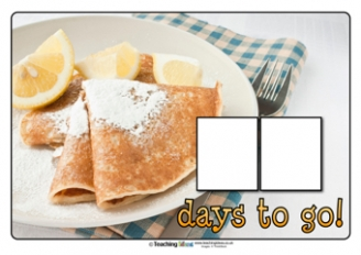 Countdown to Shrove Tuesday