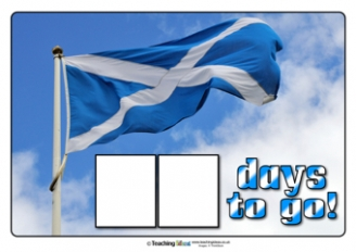 Countdown to St. Andrew's Day