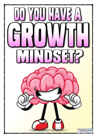 Do you have a Growth Mindset? Posters