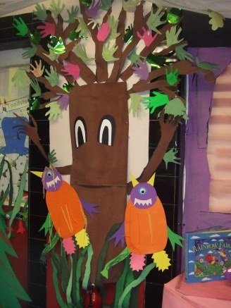 Enchanted Forest Display