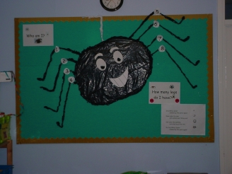 Incy Wincy Spider Display