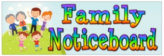 Family Noticeboard Banners