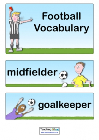 Football Vocabulary
